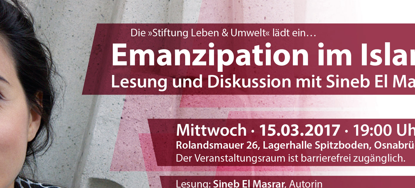 Flyer (Detail): Emanzipation im Islam